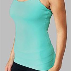 Lululemon Power Y Tank (6) in Teal